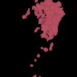 九州地方の県や河川などの特徴をチェック!
